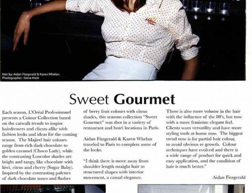 Hairdressers Journal International Sweet Gourmet